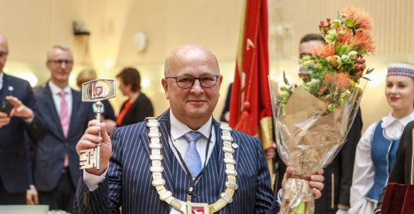 Kauno meras V.Matijošaitis apdovanotas Japonijos vyriausybės skiriamu ordinu
