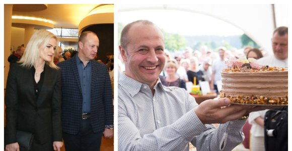 Druskininkų meras Ričardas Malinauskas vedė trečiąkart: išrinktoji – 20 metų jaunesnė