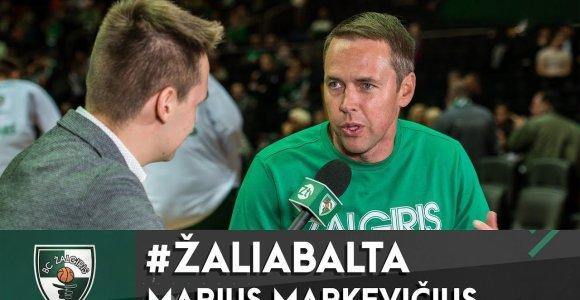 """Režisierius M.Markevičius: """"Žalgirio"""" arenoje geriau nei """"Lakers"""" rungtynėse"""