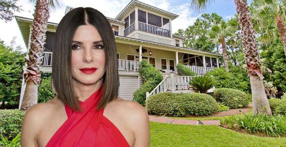 Sandrai Bullock atsibodo trumpalaikiai nuomininkai: parduoda idilišką atostogų vilą Džordžijoje