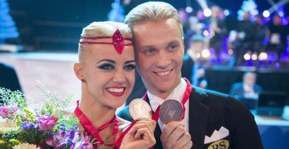 """Pasaulio čempionai Ieva ir Evaldas Sodeikos: """"Apkalbos – baisiausias ginklas"""""""