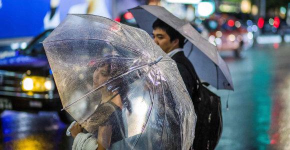 Dėl artėjančio taifūno atšauktos dvejos pasaulio regbio čempionato rungtynės