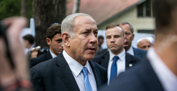 Su žydais susitikęs B.Netanyahu džiaugėsi draugyste tarp dviejų mažų demokratijų