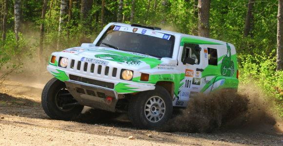 """""""Hummer H3 EVO"""" lenktyniaujantis Vaidotas Paškevičius: šiuo visureigiu galima laimėti"""