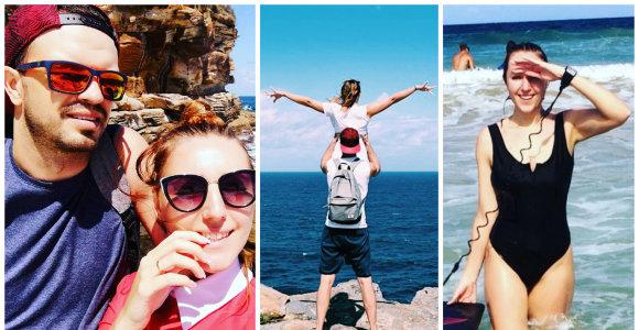"""Australijoje gyvenusi """"Queens of Roses"""" narė Giedrė laukiasi pirmagimio: """"Tegu prasideda kelionė"""""""