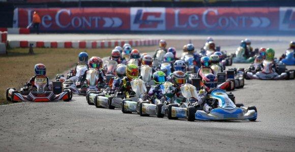 Lietuviai garbingai pasirodė pirmose sezono lenktynėse Italijoje