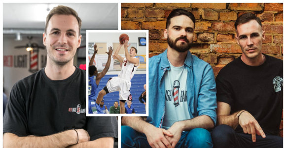 Svajonę tapti krepšininku palaidojęs reklamos žvaigždė Bartas Višinskis vietą atrado tarp barzdaskučių