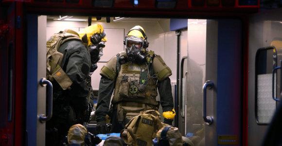 Vokietijoje sulaikytas nuodingų medžiagų savo bute laikęs vyras
