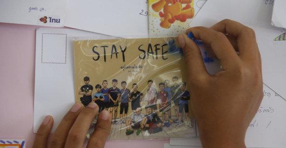 Iš urvo Tailande ištrauktiems vaikams teks kautis su potrauminio streso vaiduokliais