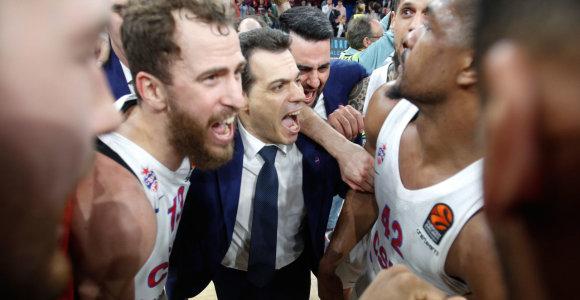 Eurolygos metų treneris – Šarūną Jasikevičių pranokęs Dimitris Itoudis