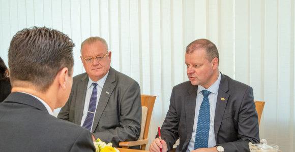 S.Skvernelis po susitikimo su LFF vadovais davė pažadą