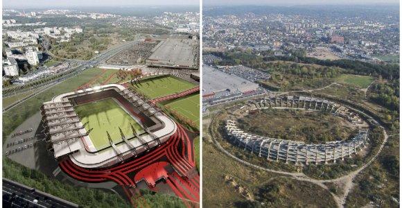 Teismas leido tęsti Vilniaus Nacionalinio stadiono konkursą