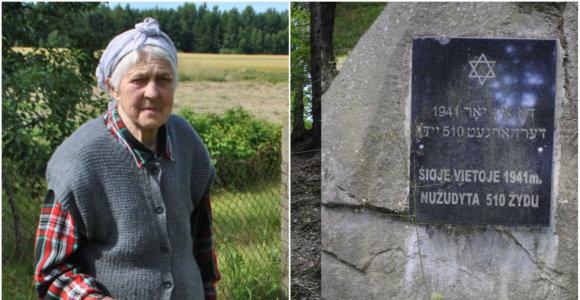 """85-erių žemaitė Joana Milašienė: """"Iki šiol regiu atkastus žydų kūnus"""""""