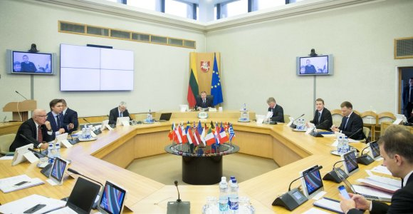 Vyriausybės pasitarimai bus transliuojami tiesiogiai