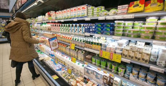 VMVT: visus parduodamus pieno produktus saugu vartoti