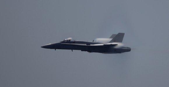 Ispanijoje sudužus kariniam lėktuvui žuvo pilotas