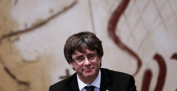 Ispanija sieks Katalonijos lyderio arešto, jeigu šis vyks į Daniją