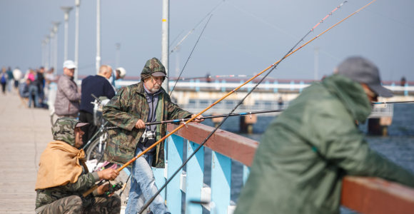 Vasario 16-ąją ir Kovo 11-ąją žvejoti bus galima nemokamai