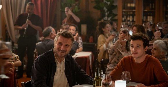 Filmo metu L.Neesonas dar kartą išgyveno tragišką žmonos netektį: drauge vaidino ir tikras aktoriaus sūnus