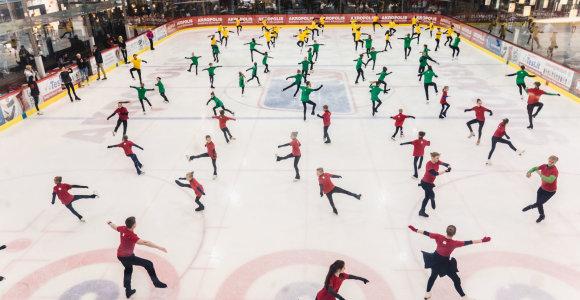 Ant ledo – iškart du šalies rekordai