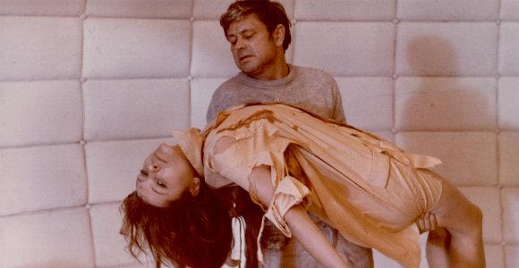 """Pamatykite, kaip atrodo garsiojo filmo """"Soliaris"""" archyviniai kadrai: vaidino ir D.Banionis"""