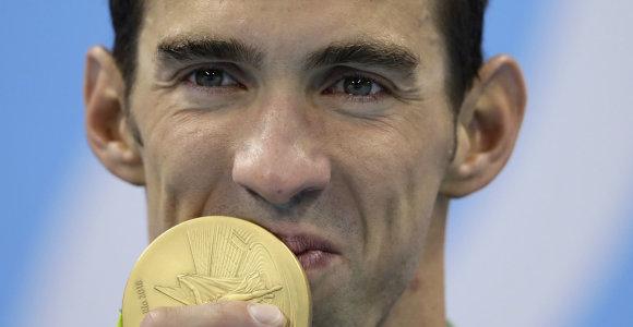"""Plaukimo superžvaigždė Michaelas Phelpsas atsivėrė: """"Galvojau apie savižudybę"""""""