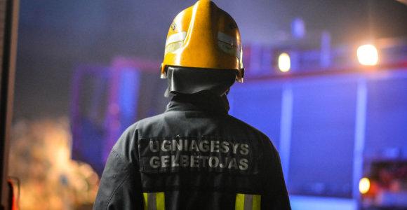 Pasvalio rajone nuo žūties ugnyje išgelbėti du vyrai