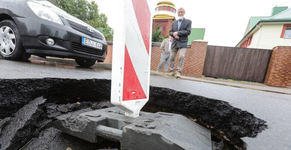 VGTU mokslininkas apie duobėtas Kauno gatves: įgriuvų nesudėtinga išvengti