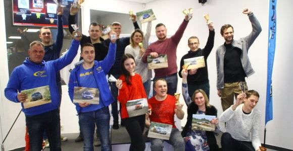 """""""Subaru Gravel 2018"""" varžybų autokroso trasoje dalyviams – metiniai apdovanojimai"""