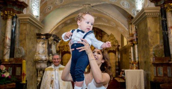 Tomo Pavilionio ir Gabrielės Lileikaitės sūnaus Tomo krikštynos