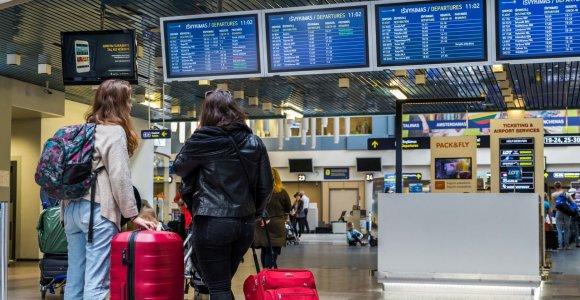Vilniaus oro uoste bus įrengti automatiniai pasienio patikros vartai