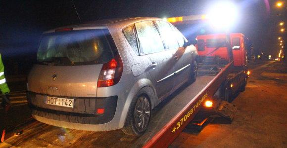 Panevėžyje daugiau nei 3,5 promilės įpūtęs vairuotojas įtariamas ir vagyste