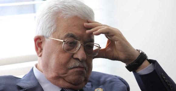 """Palestiniečių prezidentas Jungtinėse Tautose atmeta """"Izraelio ir amerikiečių planą"""""""
