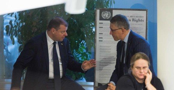 Seimo NSGK kvies žvalgybos vadovus dėl premjero Sauliaus Skvernelio pareiškimų