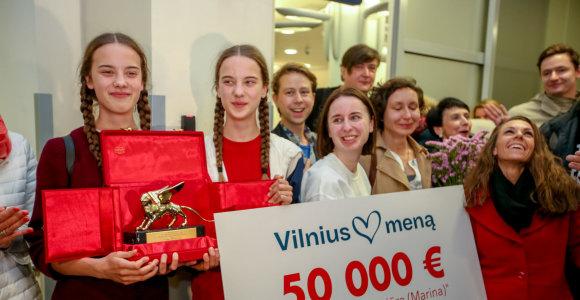 """Lietuvoje pasitinkami """"Auksinio liūto"""" nugalėtojai"""