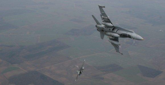 Siūloma plėsti Baltijos šalių oro policijos misijos įgaliojimus