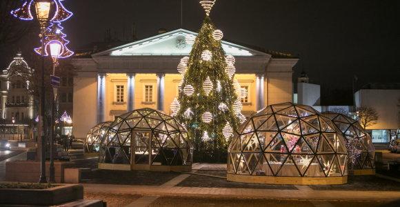 Kalėdų miestelis Rotušės aikštėje
