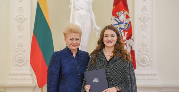 Nacionalinio diktanto nugalėtoja – VU doktorantė Ž.Pabijutaitė