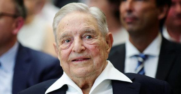 Stambi dovana: G.Soroso fondas skiria 220 mln. dolerių kovai su rasine nelygybe JAV