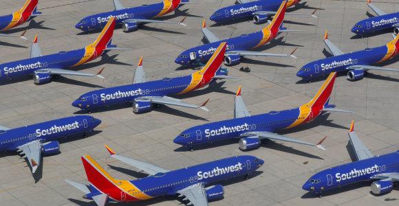 """""""United Airlines"""" atidėjo """"Boeing 737 MAX"""" grąžinimo į eksploataciją datą"""