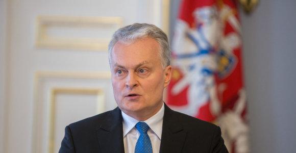 Prezidentas atleido korupcijos byloje įtariamą teisėją G.Čekanauską