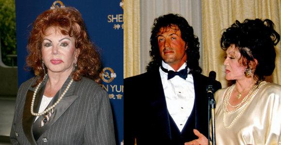 Netektis Sylvesterio Stallone šeimoje: mirė mylima aktoriaus mama Jackie
