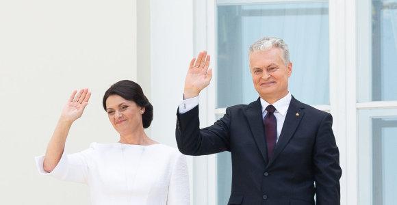 Gitanas Nausėda and Diana Nausėdienė become the owners of the Presidential Palace: Dalia Grybauskaitė wishes luck and departs