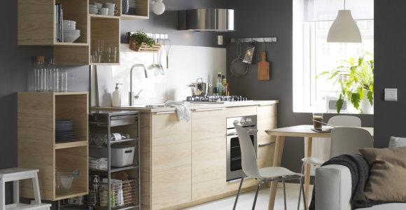 """Virtuvė jau nėra komplektas """"visam gyvenimui"""": atnaujinti galite kasmet"""