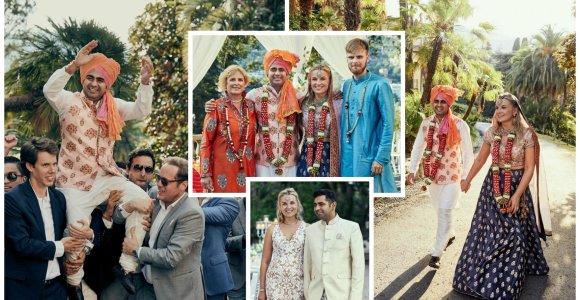 Rašytojos Rūtos Vanagaitės dukros Adelės vestuvės: Italijoje iškėlė puotą pagal indiškas tradicijas