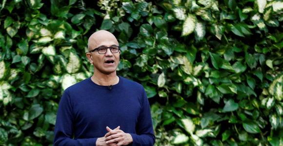 """""""Microsoft"""" pasižadėjo ne tik tapti """"neutraliais klimatui"""", bet ir išvalyti viską, ką patys priteršė"""