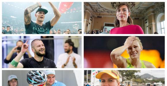 Ačiū už pergales: 2017 metais sportą paliko charizmatiškų atletų būrys
