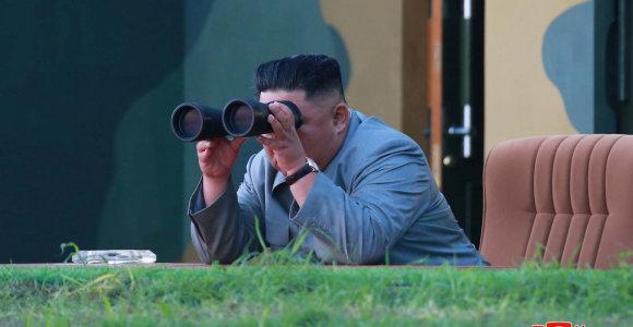 Šiaurės Korėja sako pareiškusi Pietų Korėjai ultimatumą dėl kurorto