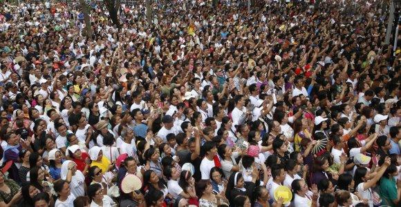 JT: gyventojų skaičius pasaulyje 2050 metais turėtų pasiekti 9,7 mlrd.
