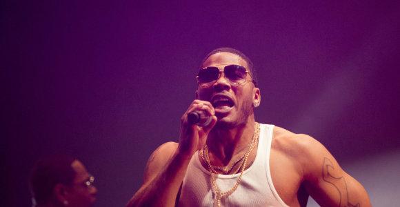 Skandalingojo reperio Nelly koncertas Vilniuje: apytuštę salę užpildė ištikimų gerbėjų palaikymas